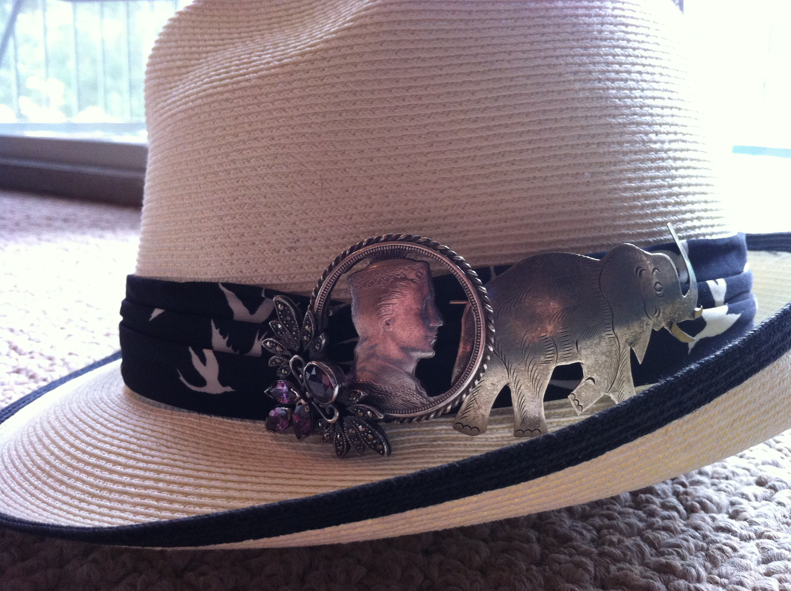 Fedora_SilverBrooches