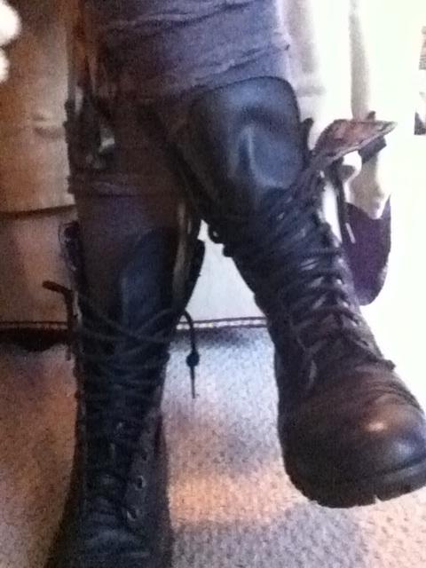 combat boots boot socks
