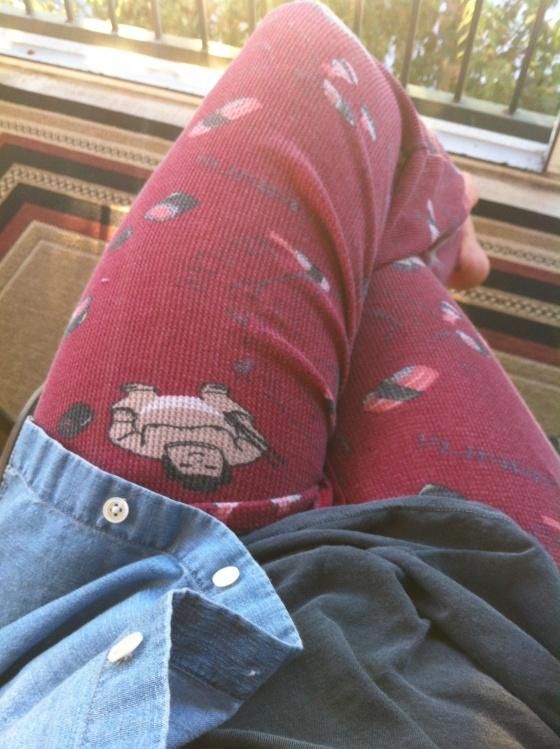 Orlando Stylist Leah Lou Chambray Style Sushi Pants 19.2